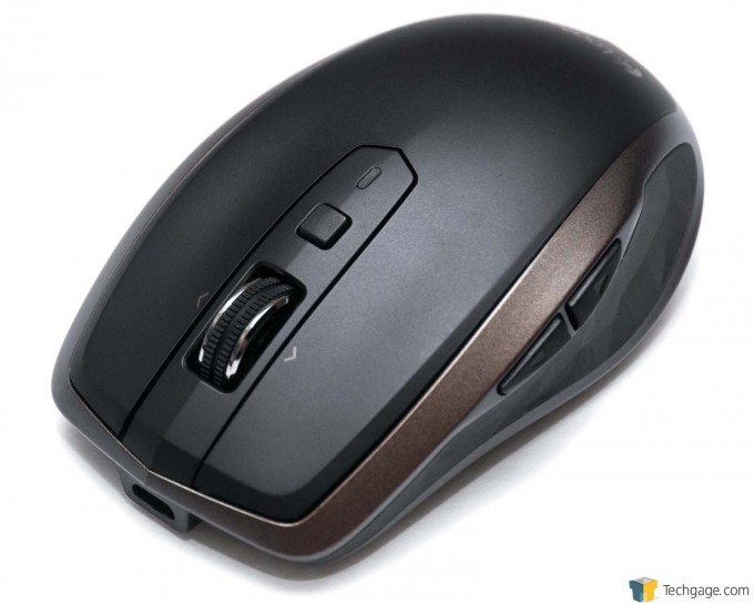 Logitech MX Anywhere 2 Portable Mouse - Scroll Wheel