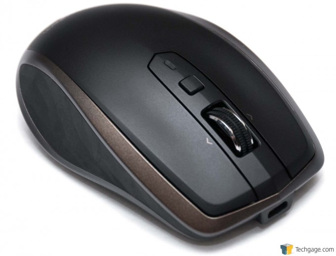 Logitech MX Anywhere 2 Portable Mouse - Top View