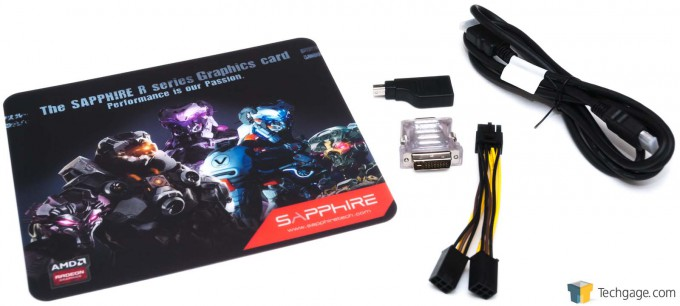 Sapphire Radeon R9 285 ITX Compact Edition - Accessories