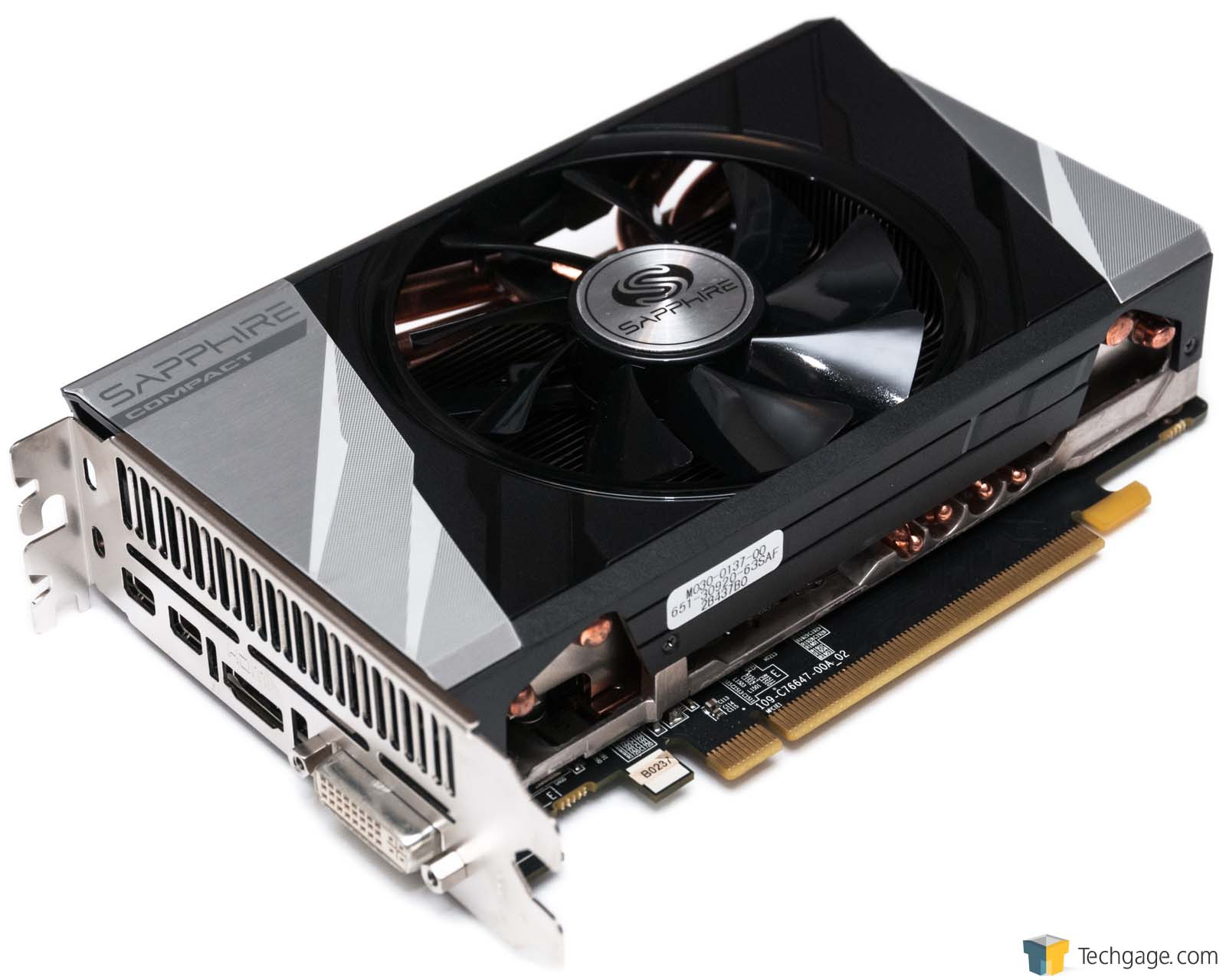 Sapphire Radeon R9 285 ITX Compact Graphics Card Review – Techgage