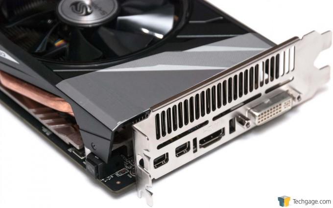 Sapphire Radeon R9 285 ITX Compact Edition - Video Connectors