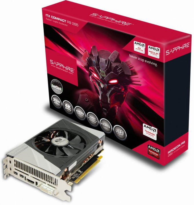 Sapphire Radeon R9 285 ITX Compact Graphics Card Review