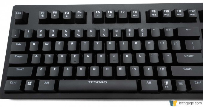 Tesoro Excalibur Mechanical Keyboard - Left Side Layout_05
