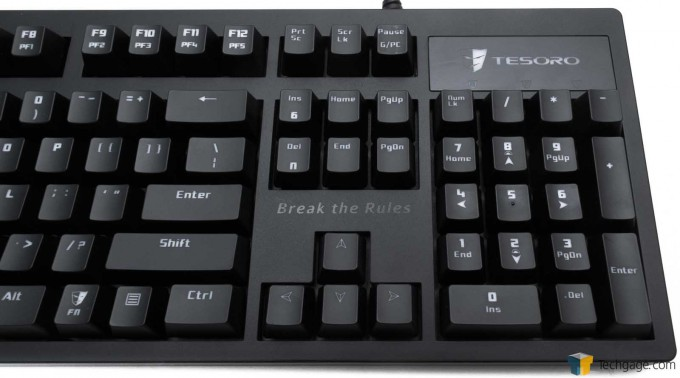 Tesoro Excalibur Mechanical Keyboard - Right Side Layout_04
