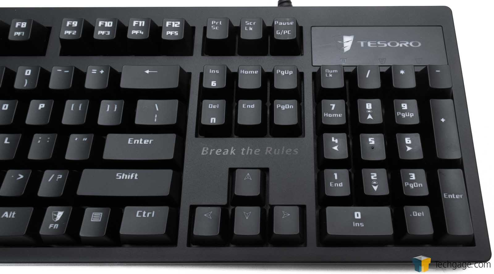Tesoro Excalibur Illuminated Mechanical Gaming Keyboard