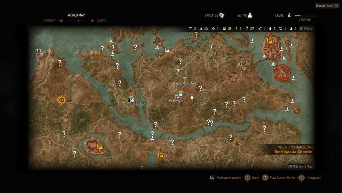 Witcher 3 Wild Hunt - An Unexplored Map_03