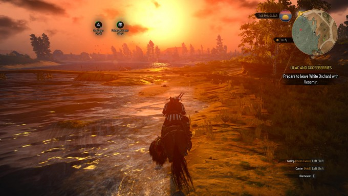 Witcher 3 Wild Hunt - Riding Off into the Distance_01