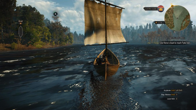 Witcher 3 Wild Hunt - Wonderful Day for Sailing_07