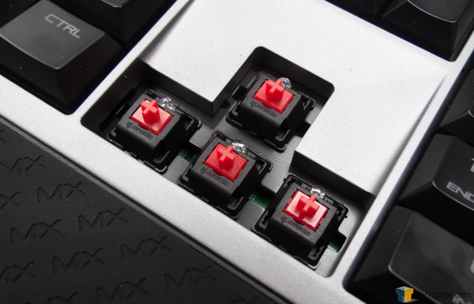 Fast Simple Solid Cherry Mx Board 6 0 Keyboard Review Techgage