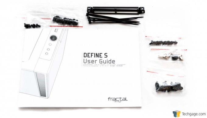 Fractal Design Define S Chassis - Accessories