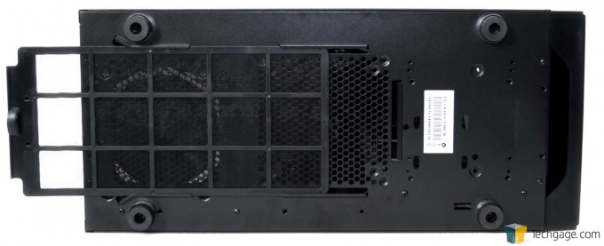 Fractal Design Define S Chassis - Exterior Underside With Fan Filter