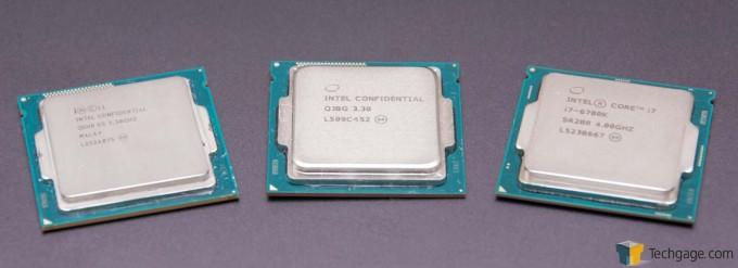Intel Core i7-4770K (Haswell), i7-5775C (Broadwell) & i7-6700K (Skylake)