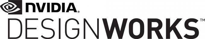 NVIDIA DesignWorks Black Logo