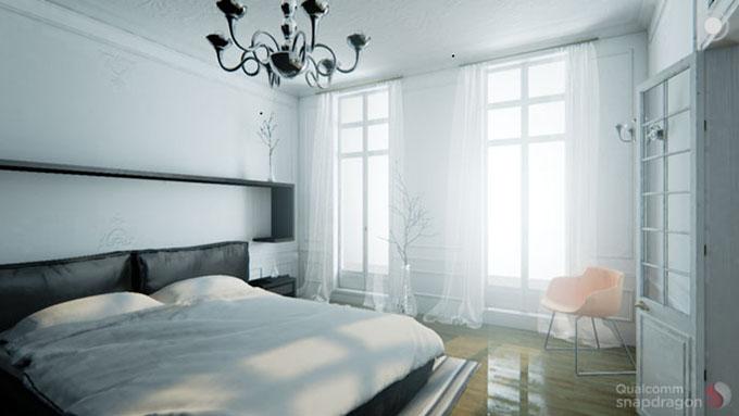 Qualcomm Adreno 530 Unreal Engine Demo - Bedroom