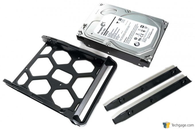 Synology DS415play - Hard Drive, and Drive Tray and Rails