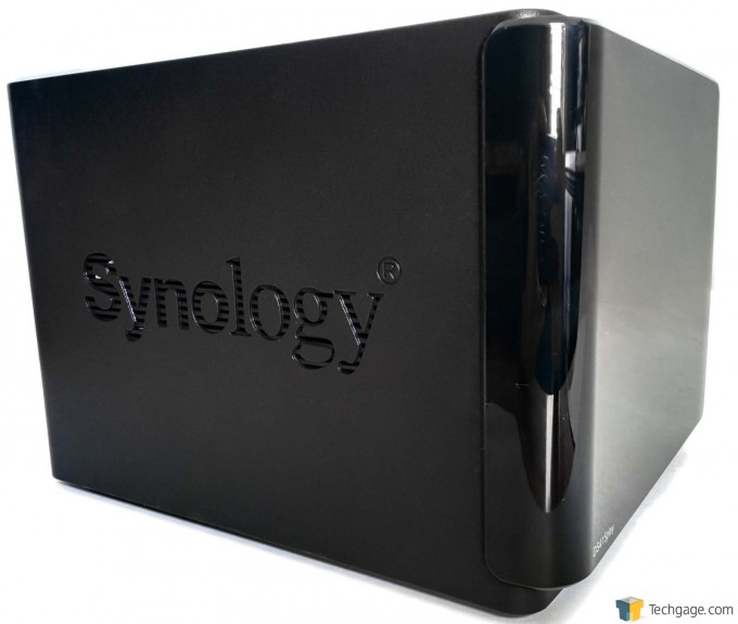 Synology DS415play - Side Ventilation