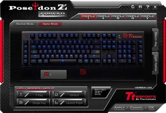 TT Poseidon Z Forged Game Mode