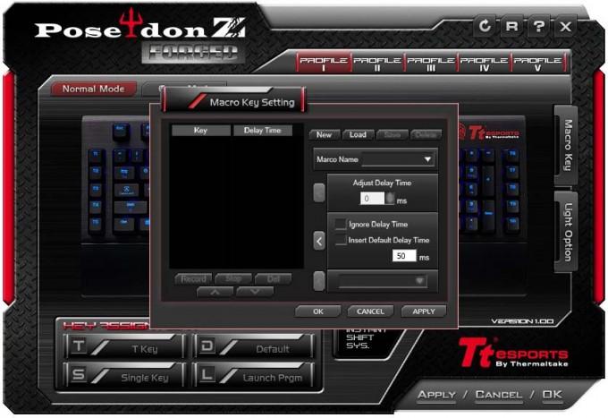 TT Poseidon Z Forged Macro Setup