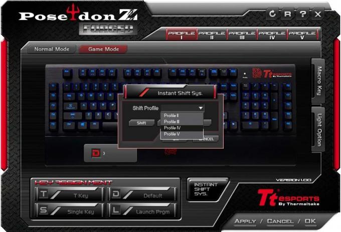 TT Poseidon Z Forged Profile Selector