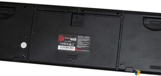 TT Poseidon Z Keyboard Rear Plate