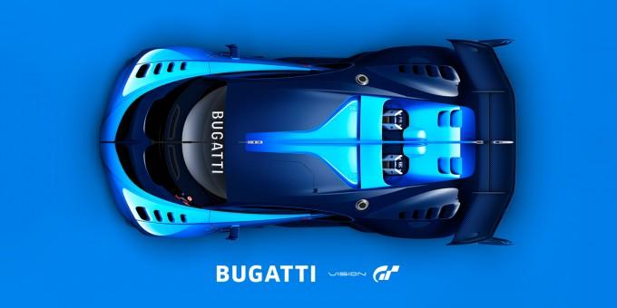 Bugatti GT Top View