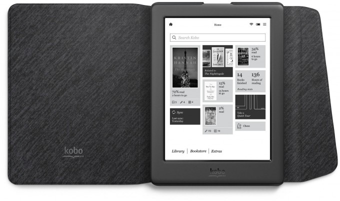 Kobo Glo HD with Cover