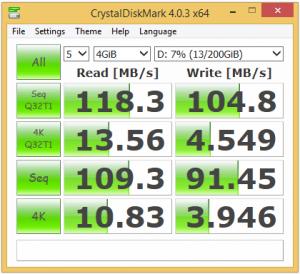 Synology DS715 RAID1 Test1