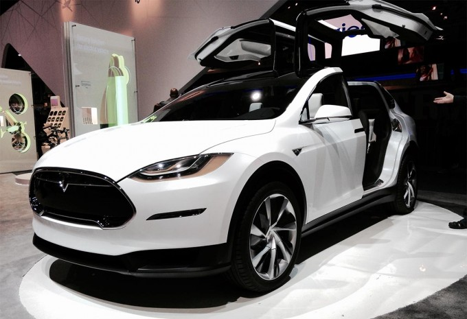 Tesla Model X SUV Press Launch