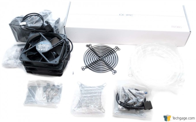 XSPC RayStorm D5 RX360 V3 Watercooling Kit - Full Bundle