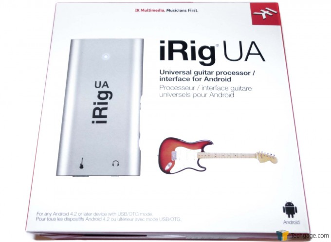 iRig UA - Android Guitar Effects Box