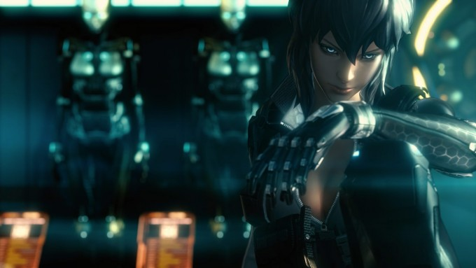 Ghost in the Shell First Assault - Stand Alone Complex CGI screenshot
