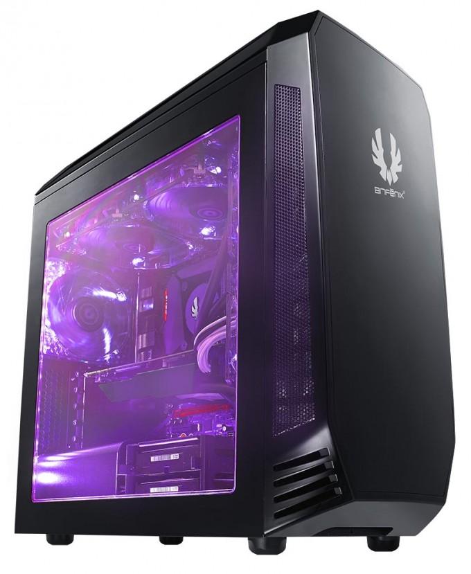 BitFenix Alchemy 2.0 Magnetic LED Strips - Press Shot Purple Case