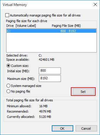 Disabling Windows Pagefile & Hibernation To Reclaim SSD Space ...