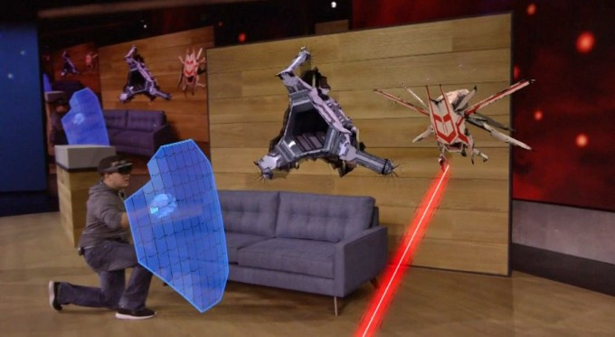 Microsoft HoloLens Project X-Ray Demo Shield