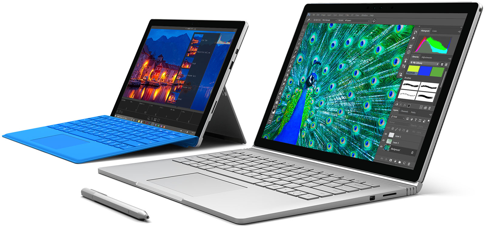 microsoft unveils much anticipated surface pro 4 surprises with brand new surface book notebook. Black Bedroom Furniture Sets. Home Design Ideas