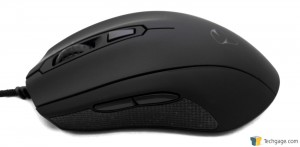 Mionix Castor Gaming Mouse - Left Side And Rubber Grip