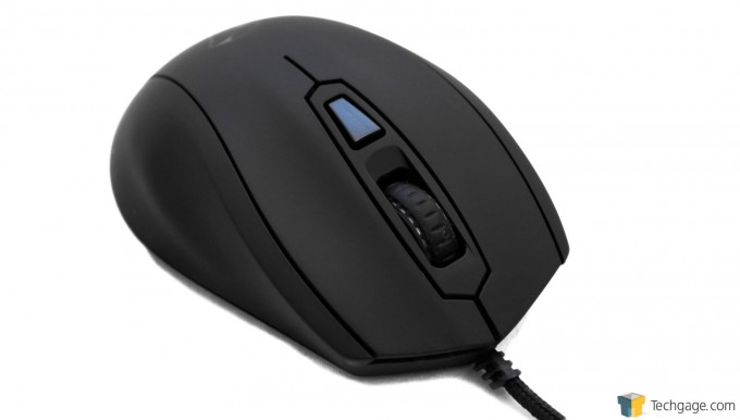 Mionix Castor Gaming Mouse - Quater View Front