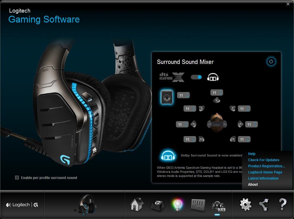 Logitech G633 Artemis Spectrum RGB 7 1 Surround Sound Headset Review