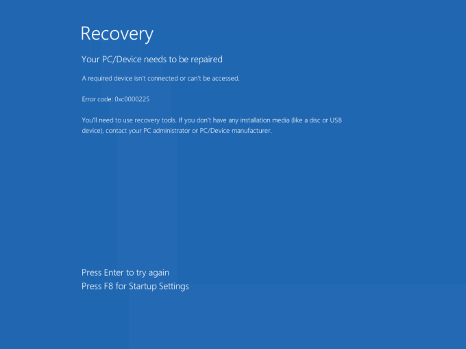 Repairing A Broken Bootloader Or Master Boot Record In Windows 7, 8