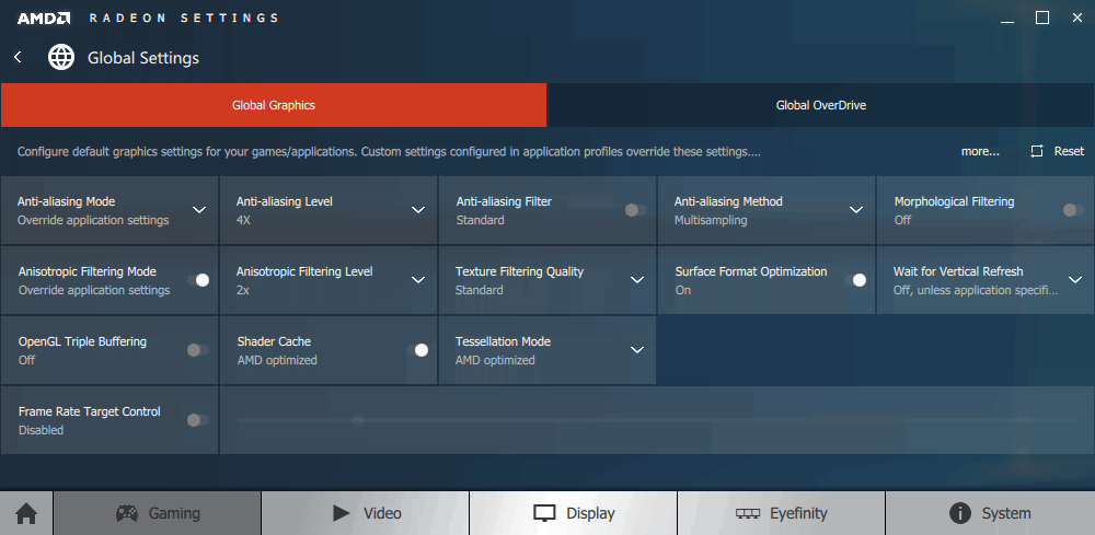 A Quick Look At AMD's 'Crimson' Radeon Settings Driver