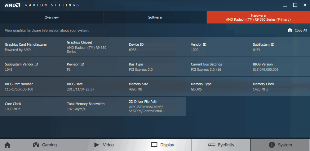 A Quick Look At AMDs Crimson Radeon Settings Driver