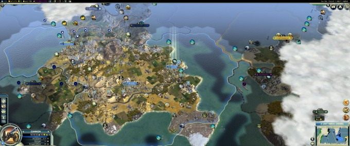 Civilization V at 3440x1440 Resolution