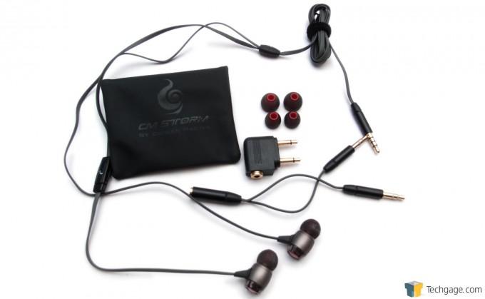 Cooler Master CM Storm Pitch Pro IEMs - Accessories