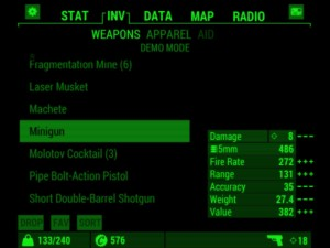 Fallout 4 Pip-Boy App Android Inventory
