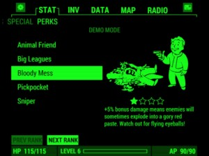Fallout 4 Pip-Boy App Android Perks