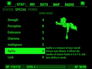 Fallout 4 Pip-Boy App Android Stats