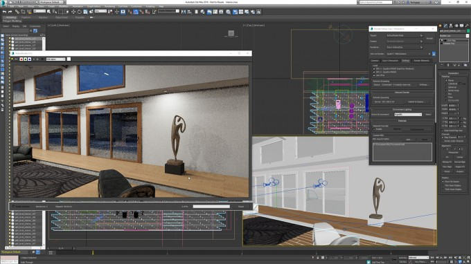 Iray Interactive in Autodesk 3ds Max 2016