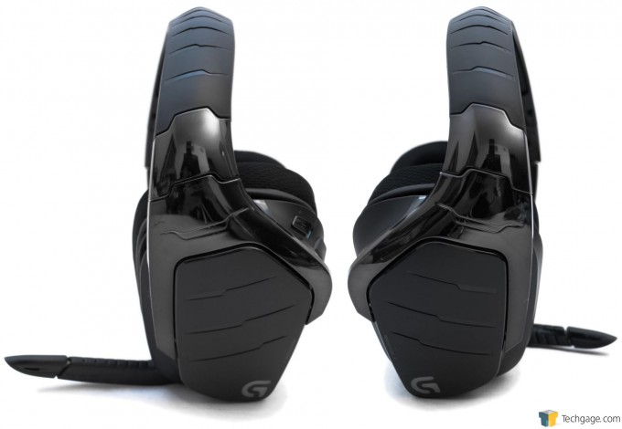 Logitech G633 Headset - Right and Left Side View