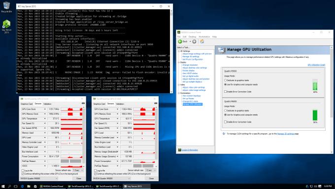 NVIDIA Iray Server In Use