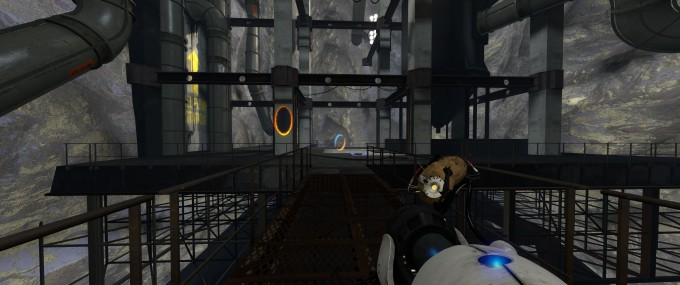 Portal 2 at 3440x1440 Resolution